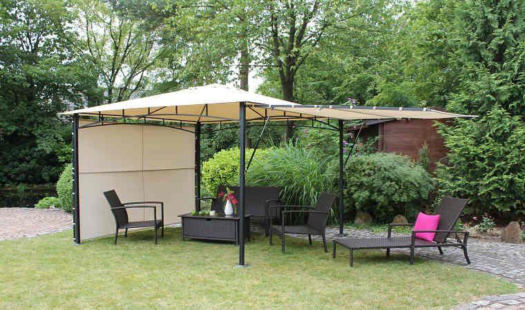 Pergola De Jardin En Aluminium Et Polyester Vario Proyectos Varios