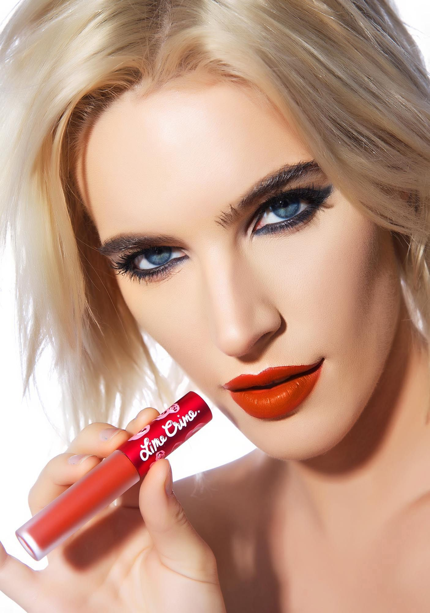 Ivy Levan Nude Great pumpkin velvetine liquid lipstick   lime crime, crime and limes