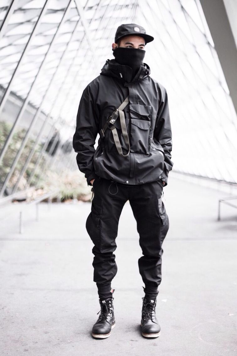 #techwear | Tech Wear & Street Fashion . | Fashion ...