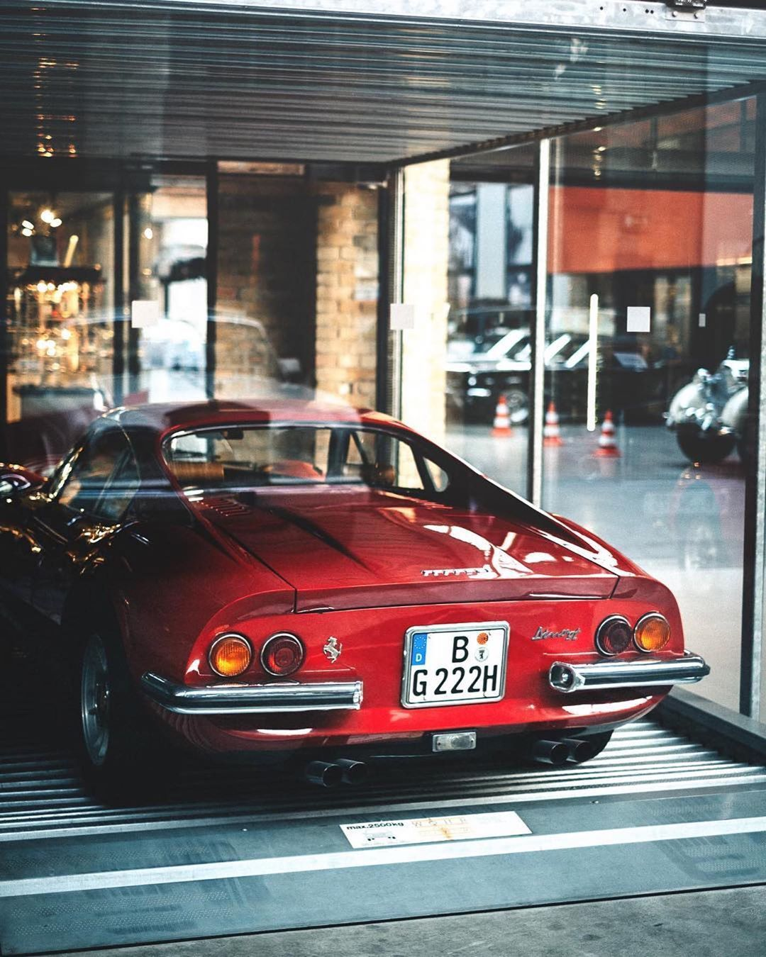 Car The Berbant On Instagram Seen Through The Glass Lichtistalles Theberbant Backrealcars Car In 2020 Sports Cars Ferrari Car Vintage Racing