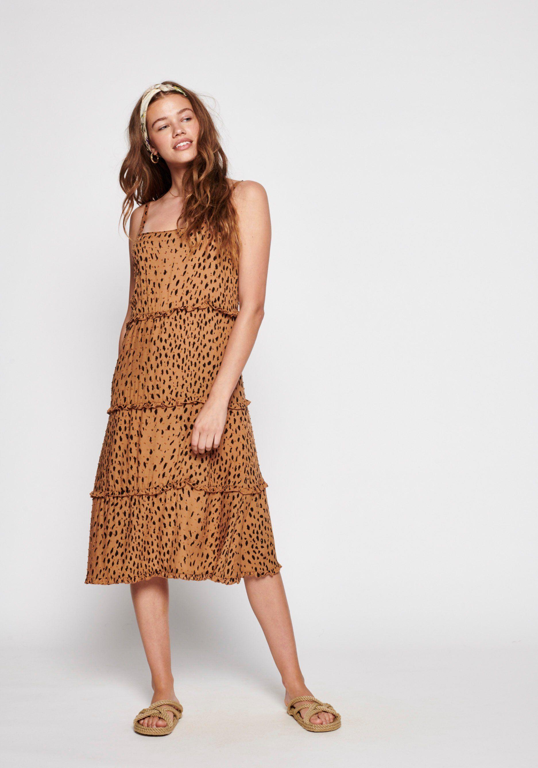 Safari Poolside Slip Midi Dress Tan Auguste The Label Dresses Designer Summer Dresses Midi Dress [ 2675 x 1874 Pixel ]