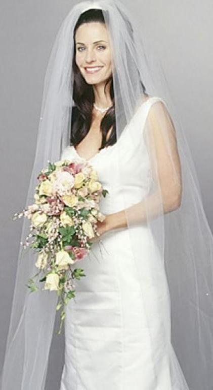 Friends Monica Geller Wedding Movie Wedding Dresses Friends