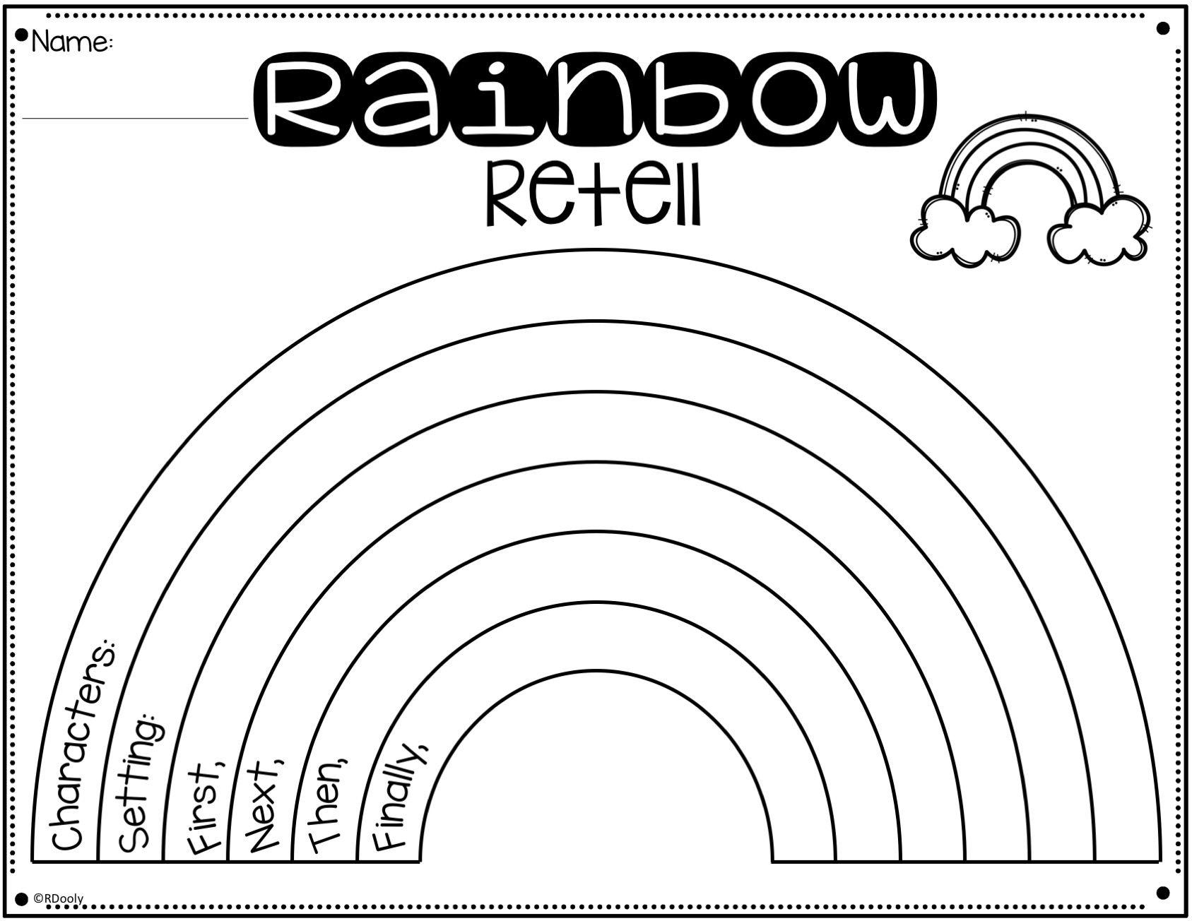 Rainbow Story Retell Bracelets