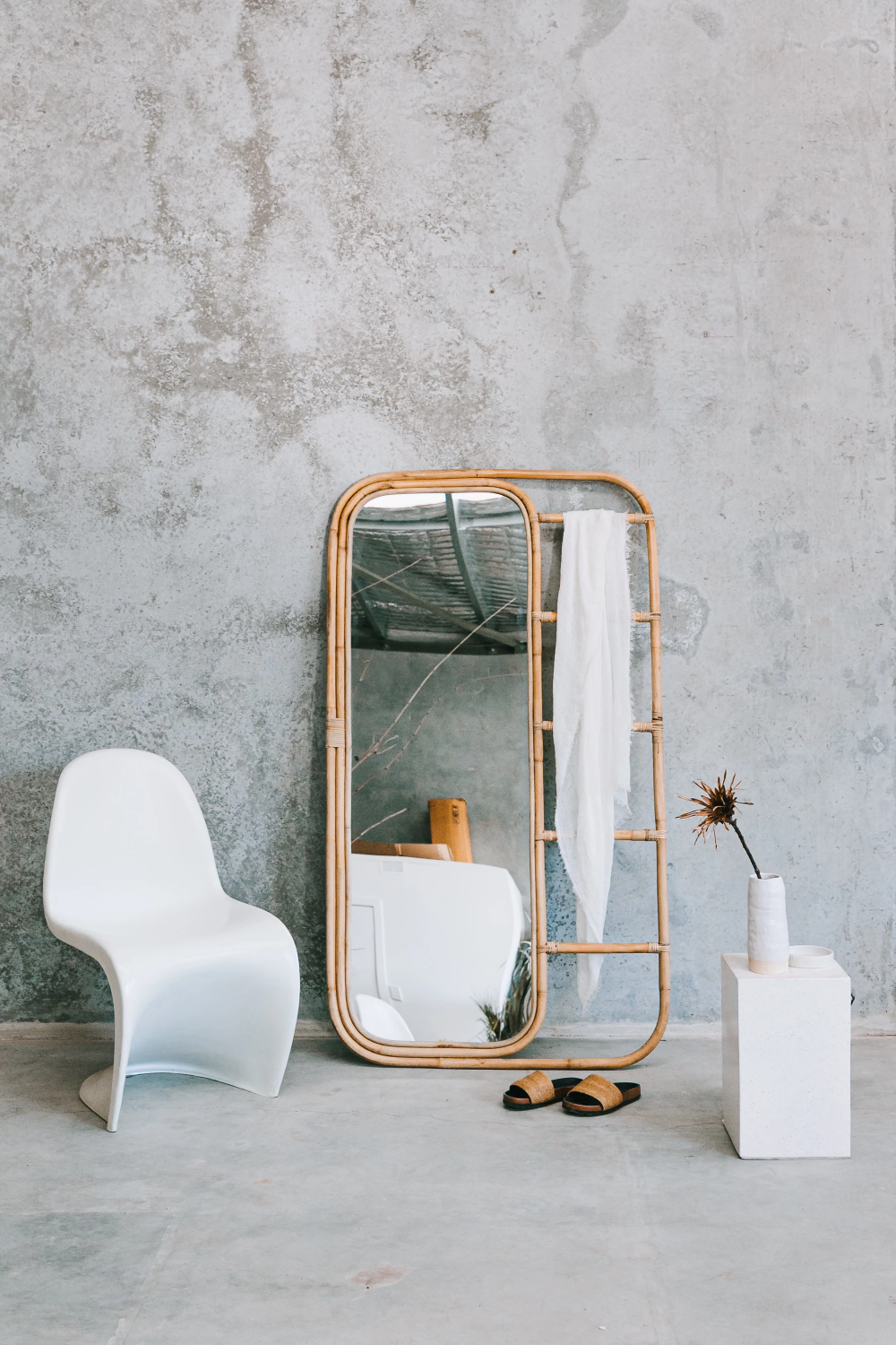 Ladder Mirror pick up only in 2020 Arch mirror, Full