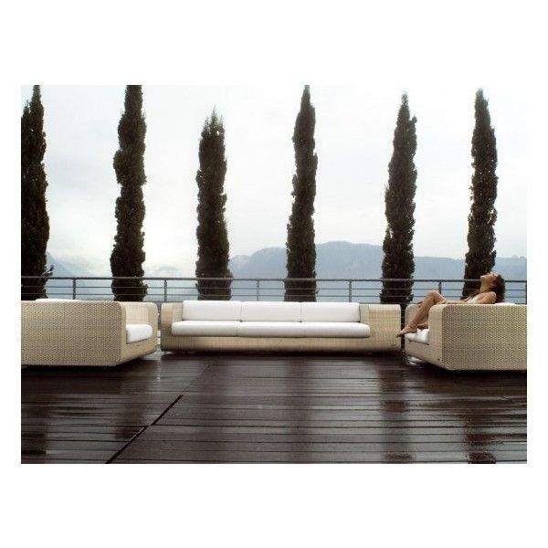 Elegant Outdoor Wicker Furniture Hug by Schönhuber Franchi by None ...