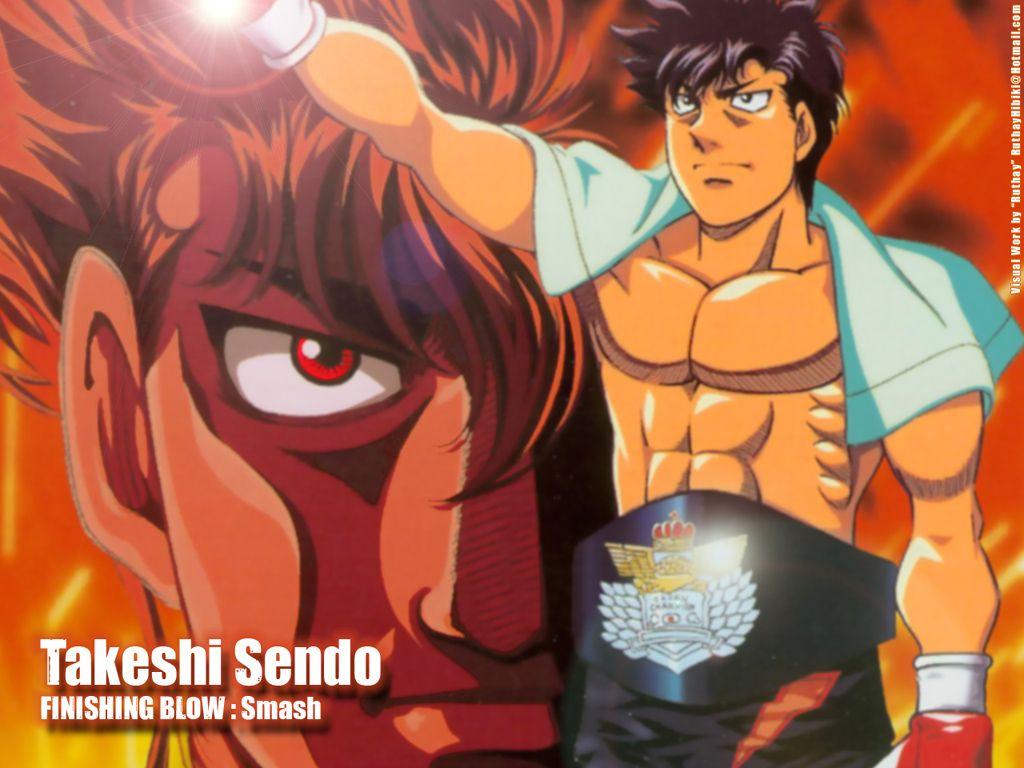 Hajime no ippo sendo aka rocky aka the tiger such an awesome character