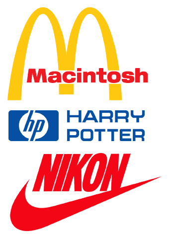 This Makes My Hp Computer Feel That Much Cooler Knowing It Also Stands For Harry Potter Corporate Logos Remixed Via Ne Hp Harry Potter Logos Corporate Logo