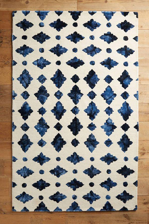 Anthropologie Moroccan Tile Rug Sponsored