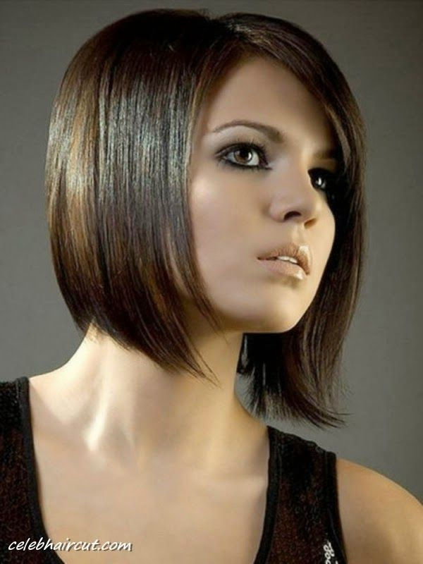 Asymmetrical Bob Haircuts This One Looks Clean And Professional