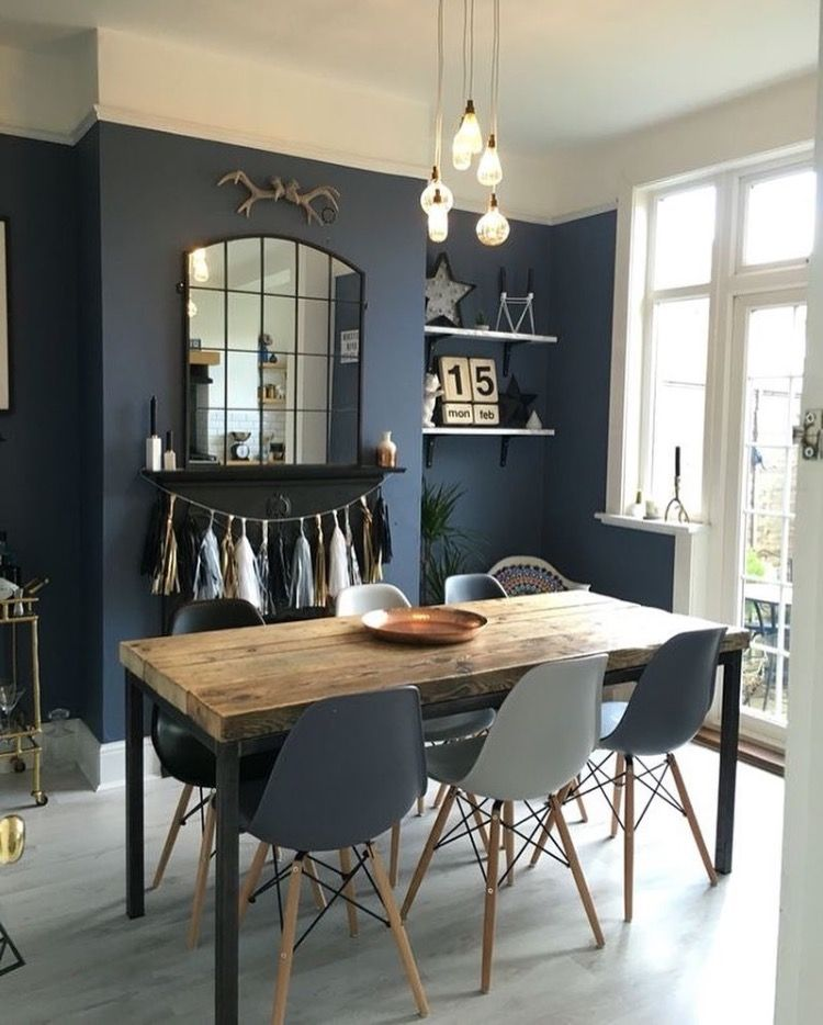 Table for small space | indaco | Pinterest | Colori pareti ...