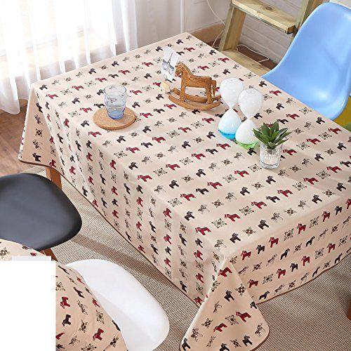 Tablecloths For Living Room Modern And Simple Cotton Canvas Fabric