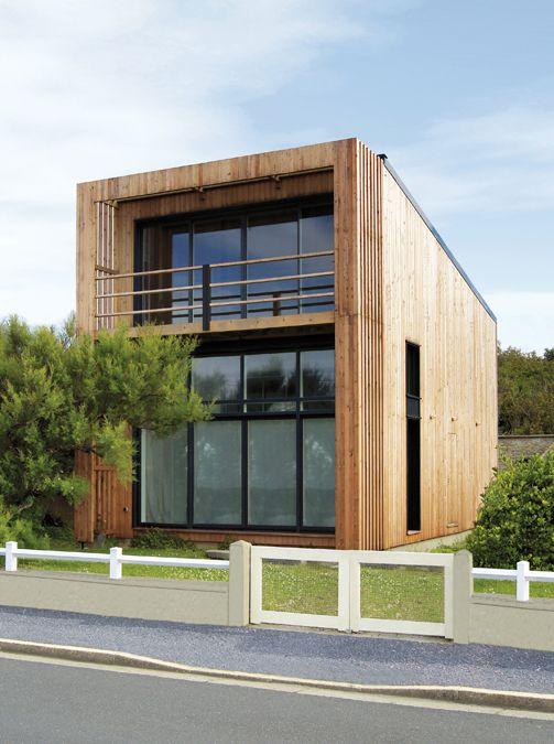 Maisons à toit plat en ossature bois Maisons Bois Contemporaine