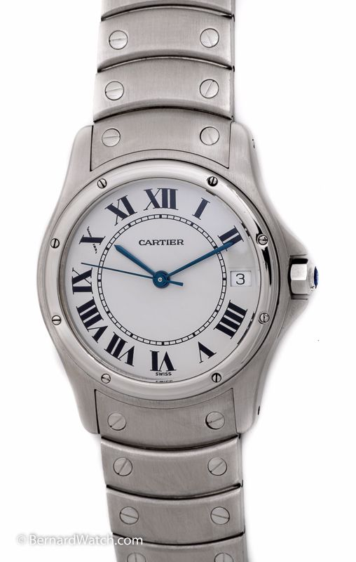 #Cartier - #Santos Rondo : W20028G1 : Bernard #Watch