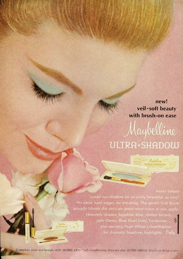 Ultra Shadow by Maybelline, 1965. (♥)