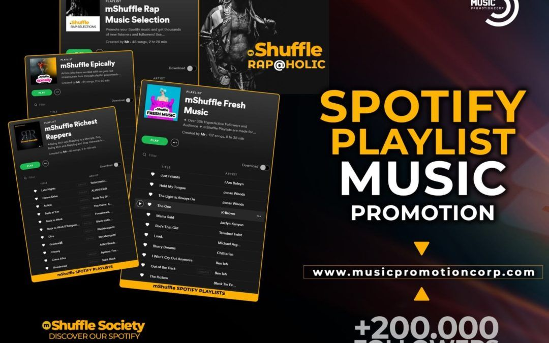 Top 10 Spotify Playlist Placement And Pitching Services In 2020 Spotify Playlist Spotify Playlist