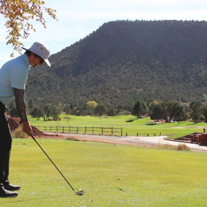 How to hit the stinger golf shot golf swing sequence