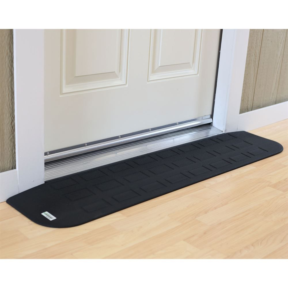 Safepath Ez Edge Transition Rubber Threshold Ramp Ada Compliant Threshold Ramp Ramp Wheelchair Ramp