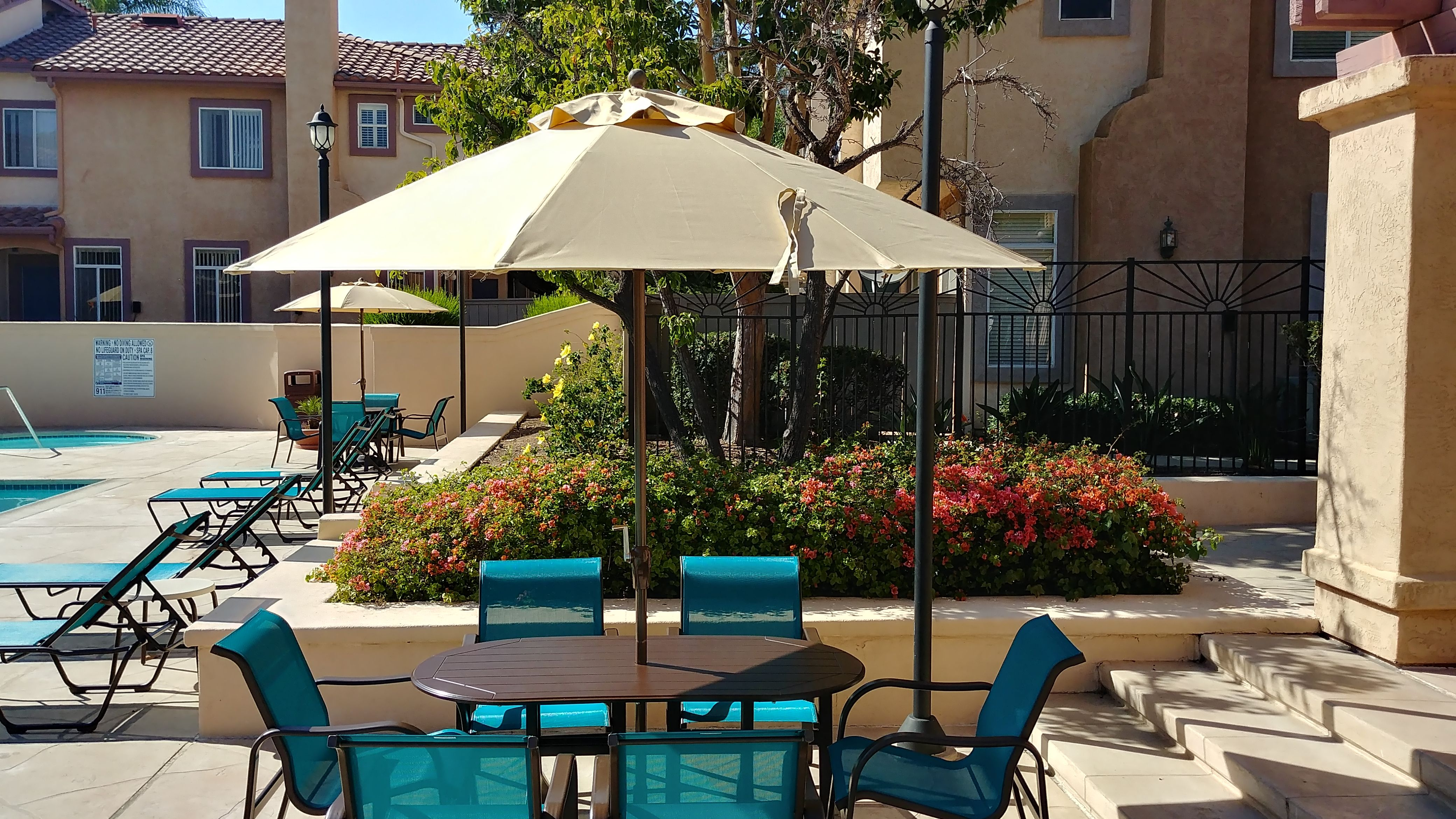 California HOA pool with their beautiful new sling Neptune ...