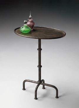 Bon $189 Butler Metalworks Pedestal End Table Traditional Side Tables And  Accent Tables