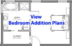 Lovely Bedroom Addition Plans Menu