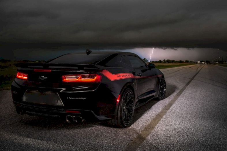 The Exorcist By Hennessey Performance Camaro Built That Is Very