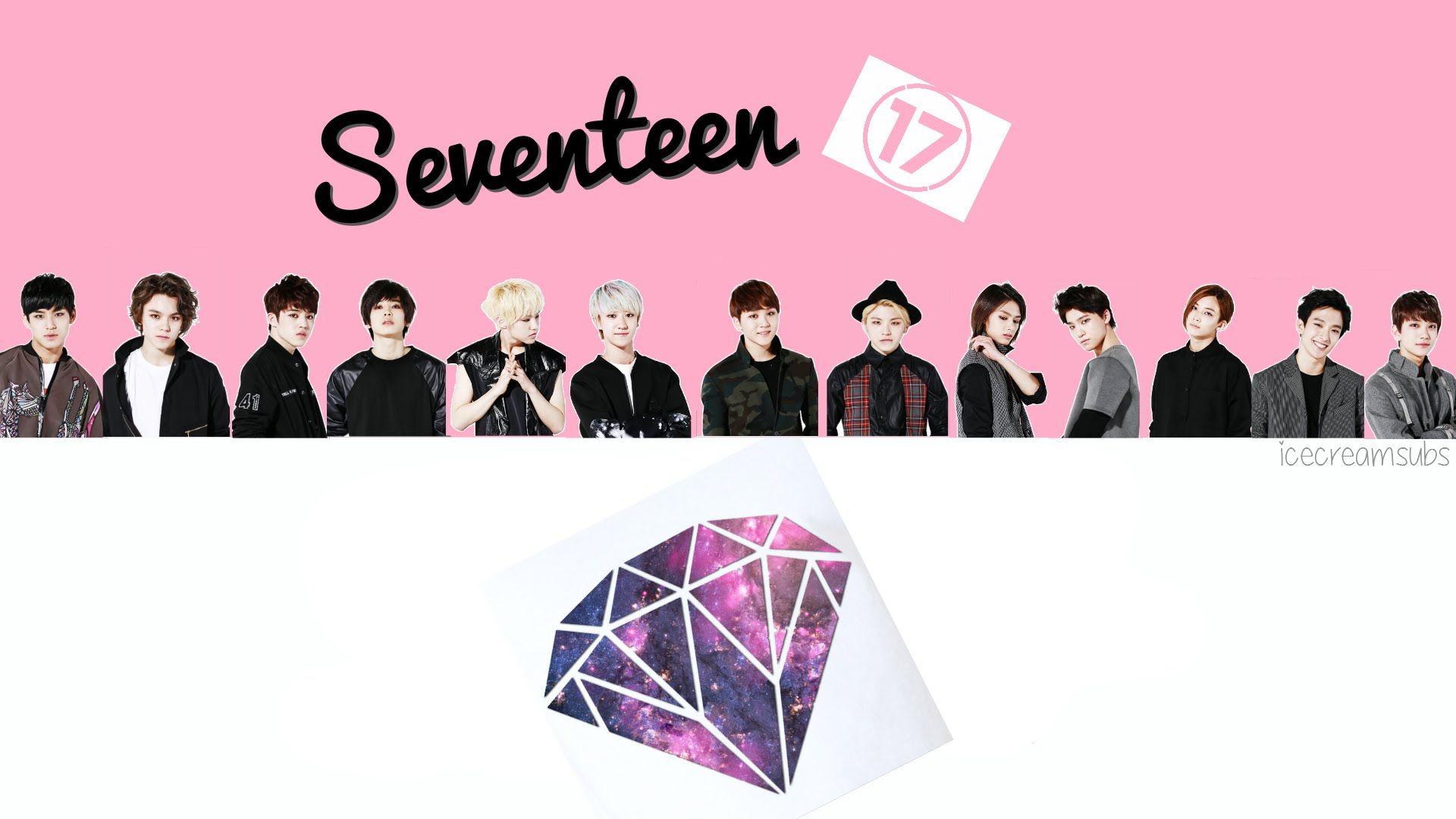 Google themes kpop - Seventeen Logo Wallpaper Szukaj W Google