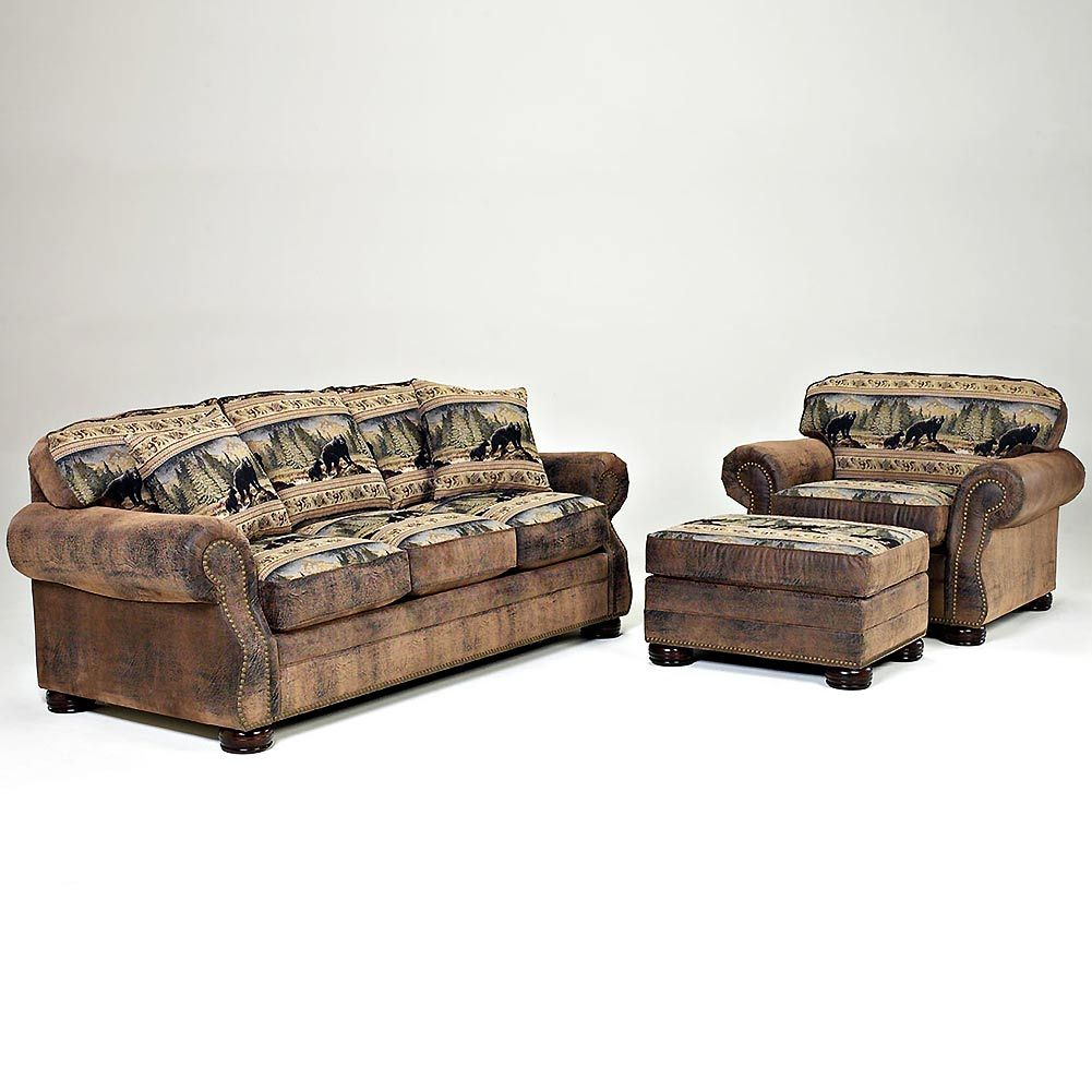 Bear Lodge Furniture With Images Lodge Furniture Furniture Cabin Place