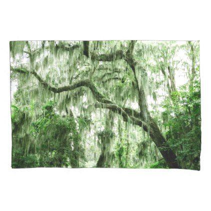 Pillowcase In Spanish Spanish Moss In Charleston Pillow Case  #pillowcases #pillowcase