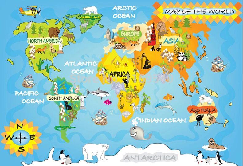 Carte Du Monde Pour Enfant A Imprimer Recherche Google Carte