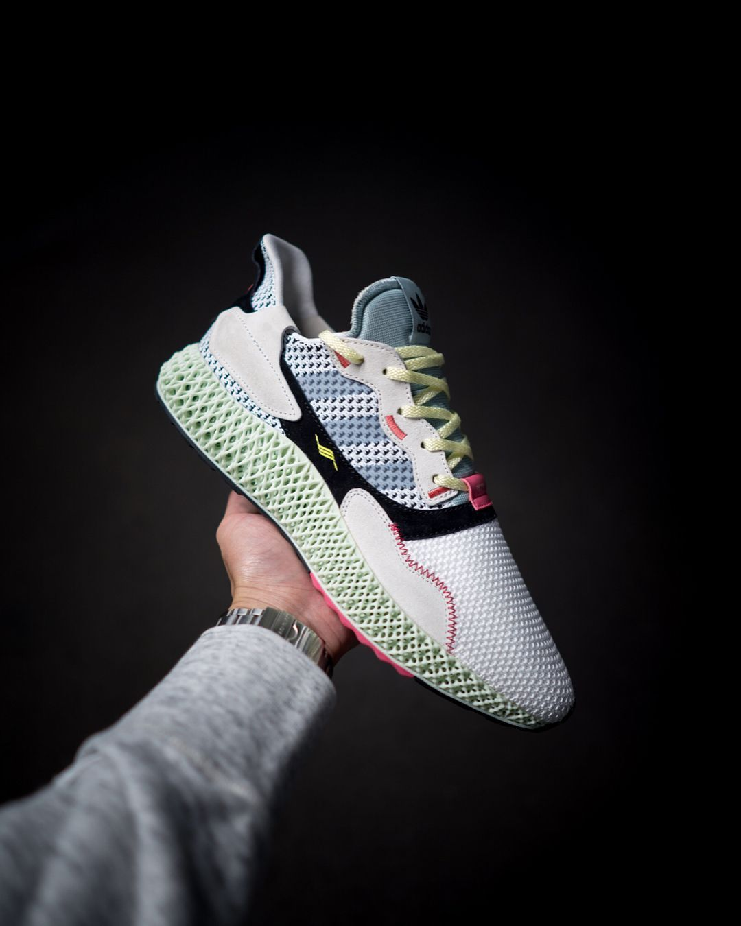 5e62469ba3d A First Look at adidas's New ZX 4000 4D Silhouette: Cutting edge. #Sneakers