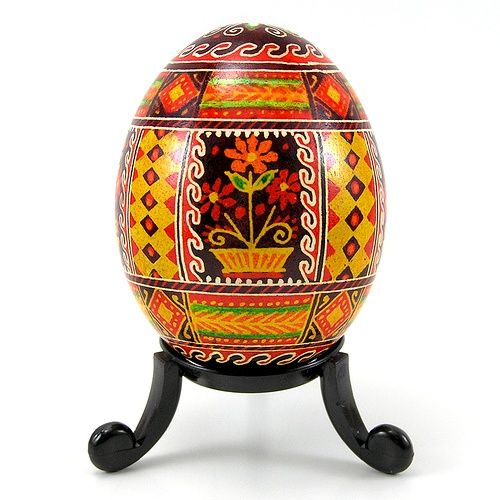 washi eggs | Flower Pot - Real Handmade Traditional ... | Eggs - Pysanki and Washi