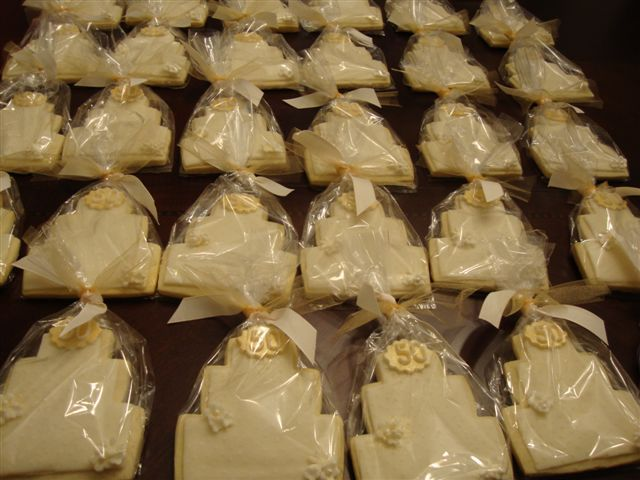 50 anniversary favors ideas | Paige Reese Designer Bakeshop: 50th ...