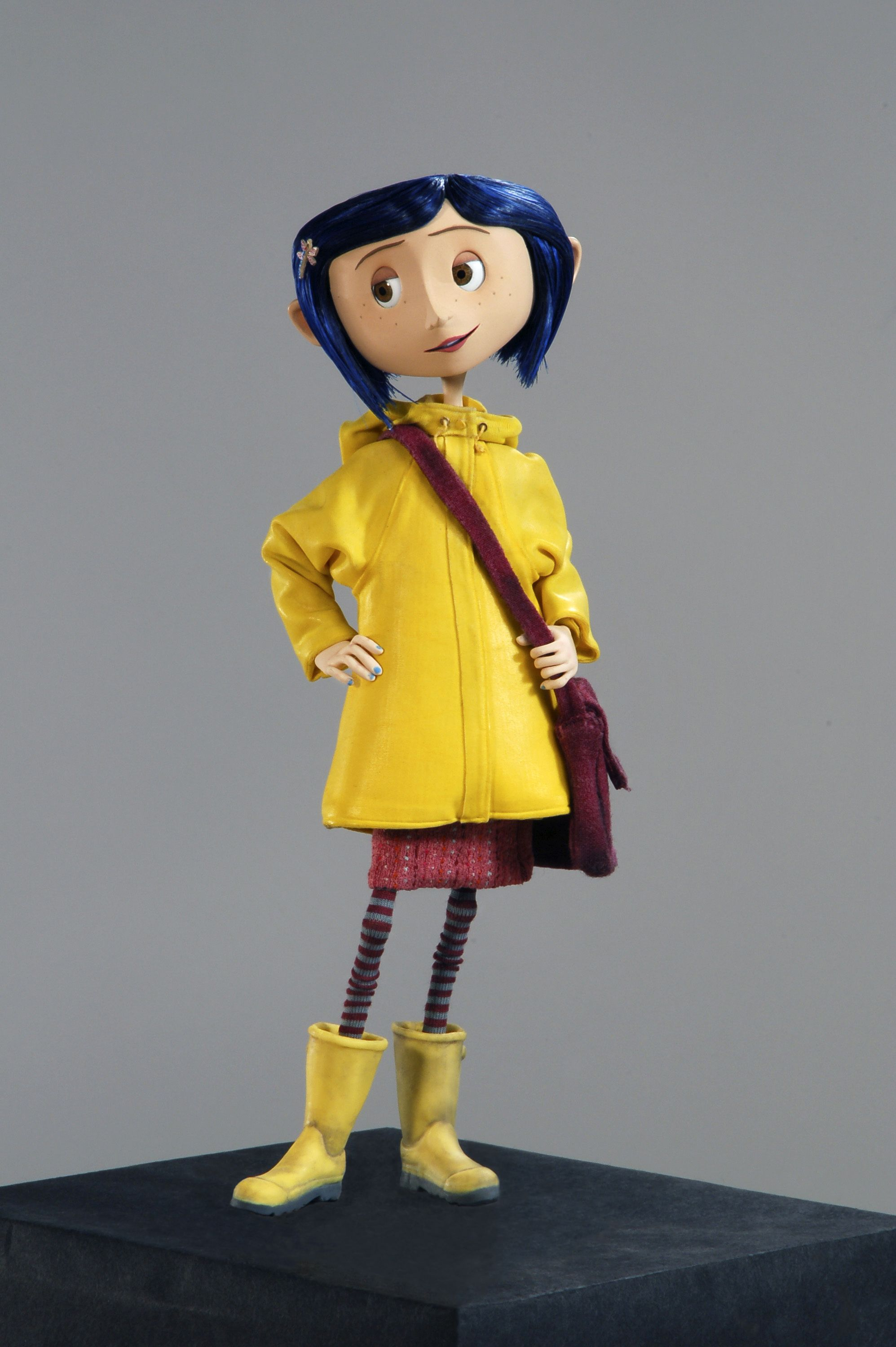 Book To Film Coraline Alsc Blog Coraline Art Coraline Movie Coraline Costume