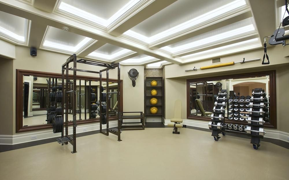 Image result for images of huge home gyms