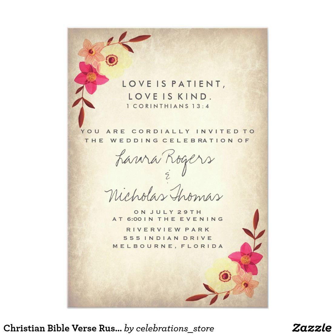 Pin on Christian Wedding Invitations