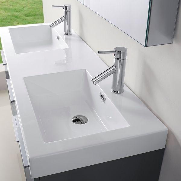Photo Gallery For Photographers Virtu USA Midori inch Grey Double Sink Bathroom Vanity Set