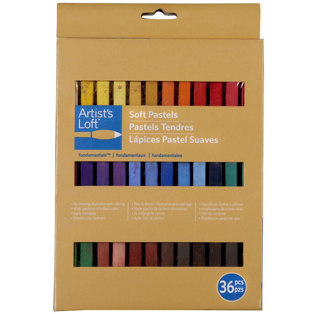 Artists loft fundamentals soft pastels set soft