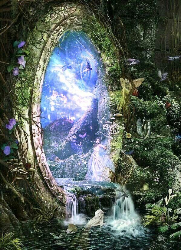 Fairy Forest Portal Invoking Ethereal Worlds Fadas