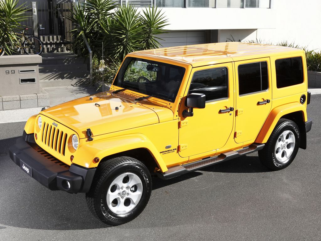 Jeep Wrangler Unlimited Overland AUspec (JK) '2013н.в