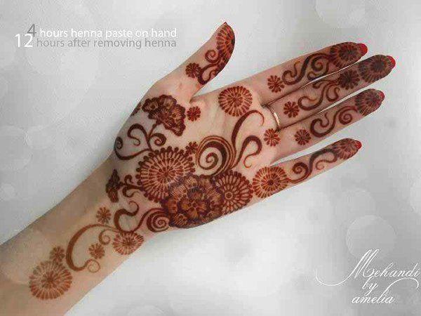 Mehndi Designs Beautiful : Simple mehndi designs beautiful health and beauty