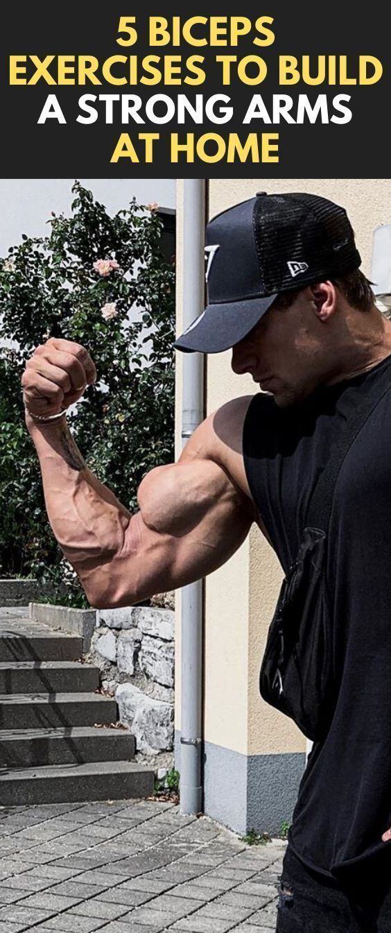 5 Biceps Exercises To Build a Strong Arms At Home  #fitness #bodybuilding #Biceps #workout