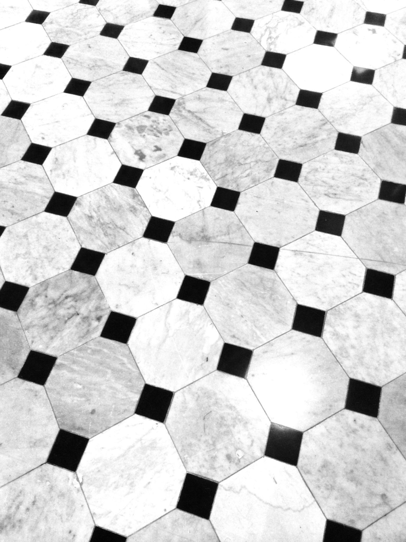 Floor Pattern At Restaurant The Jane Antwerp Design Pietre Marmo