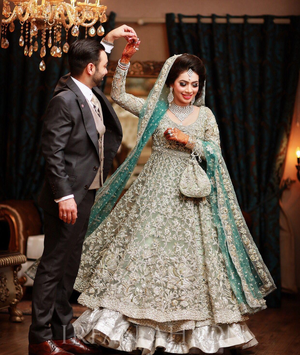 Pin by Aiza on bridal  Bridal dress design, Pakistani bride