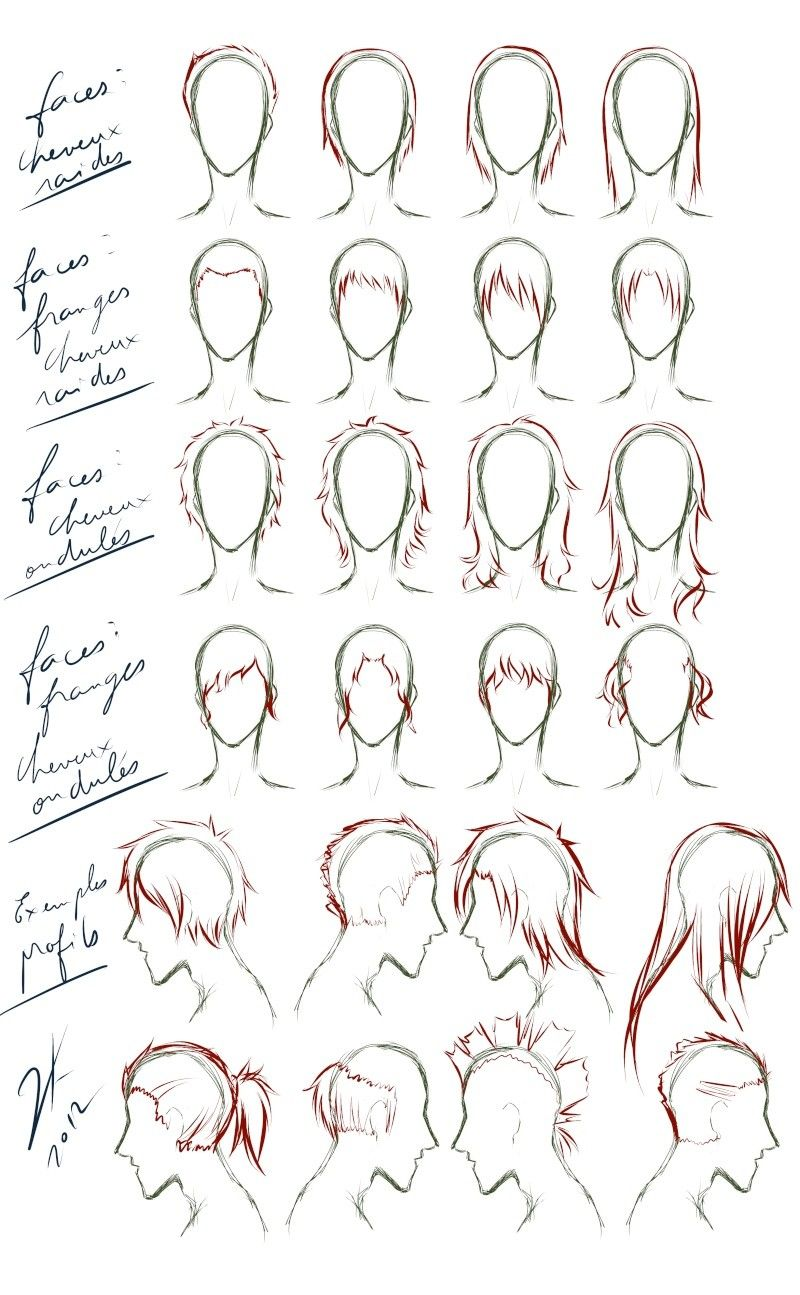 Apprendre A Dessiner Le Visage En 2019 Dessin Cheveux