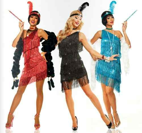 1920s roaring 20's adult womens dazzling flapper gatsby ...