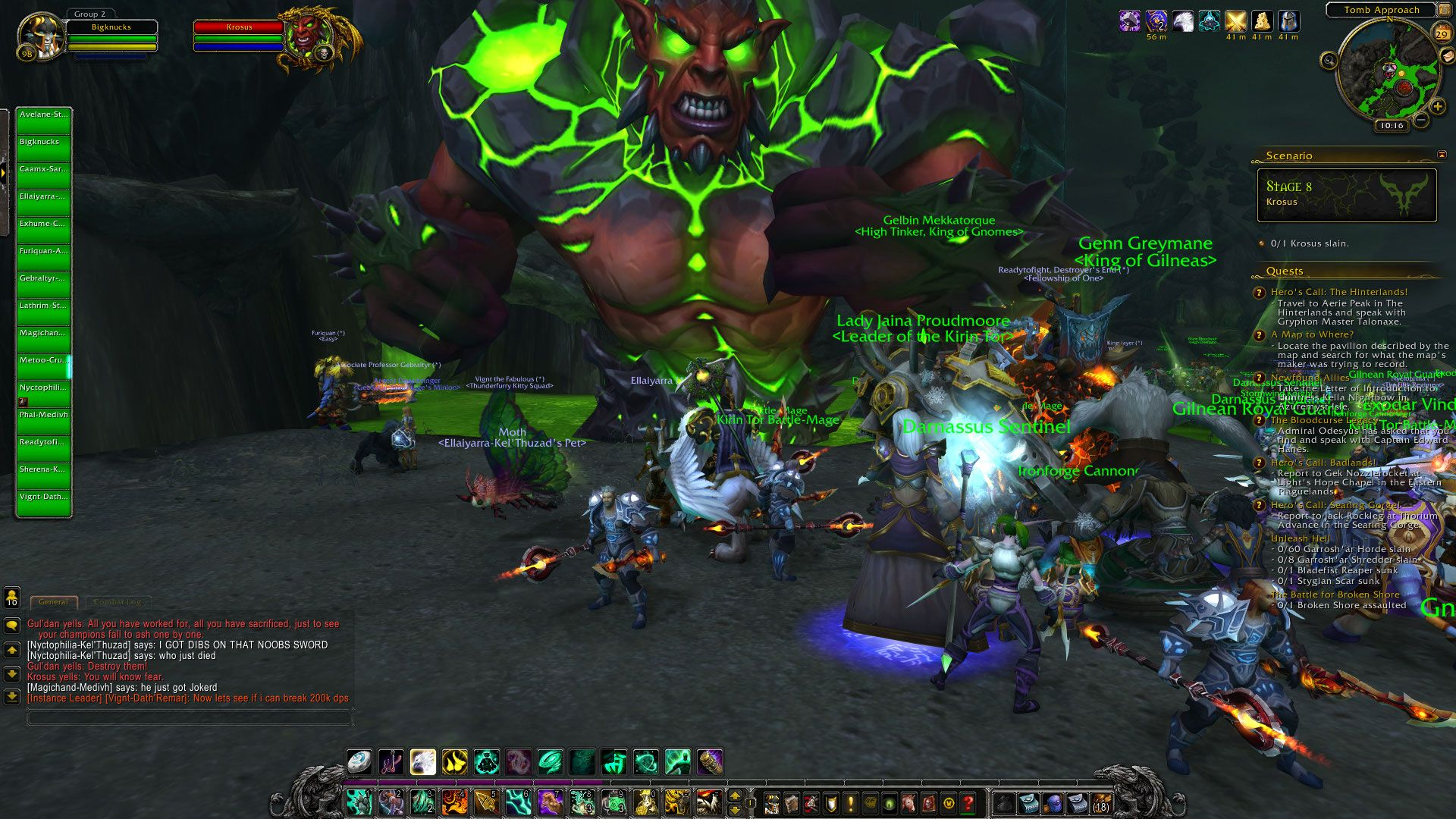 World Of Warcraft Classic Revealed For Those That Like Vanilla