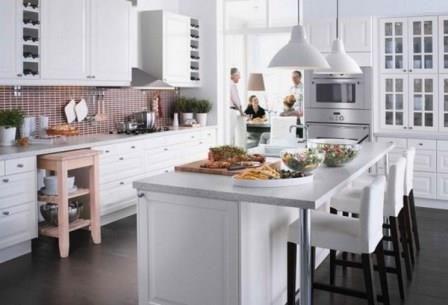 Cuisine Ikea Ilot Central Recherche Google Cuisine Pinterest - Cuisine ikea avec ilot central