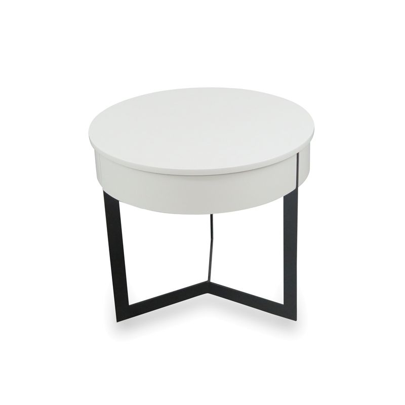 $175 down to $125 D45 xH40 white lamp side table