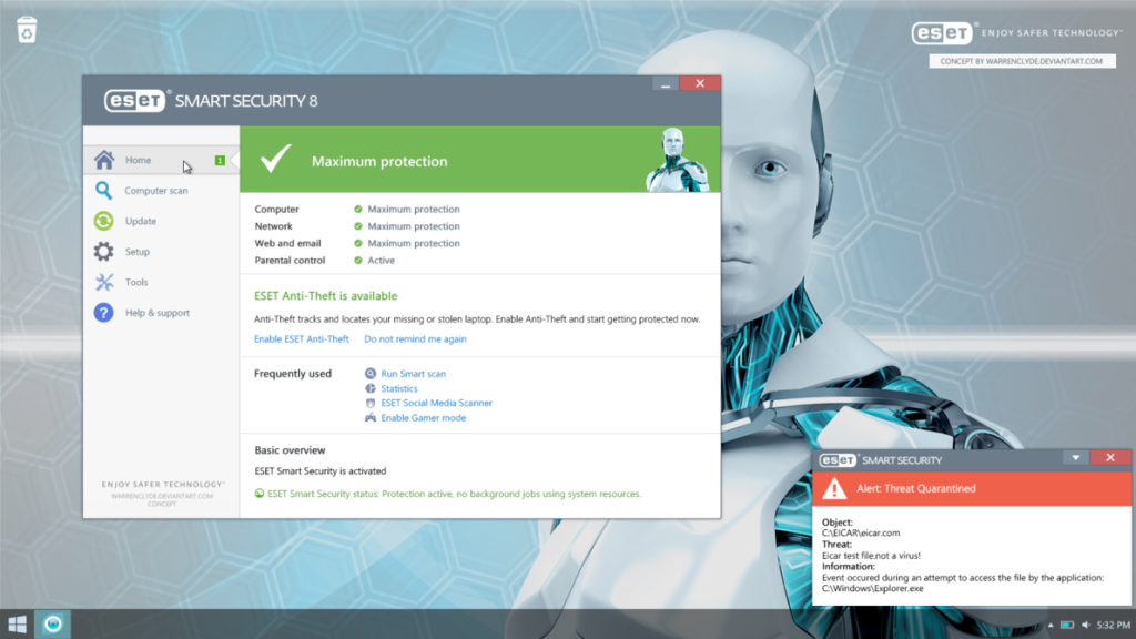 eset smart security 8 free download