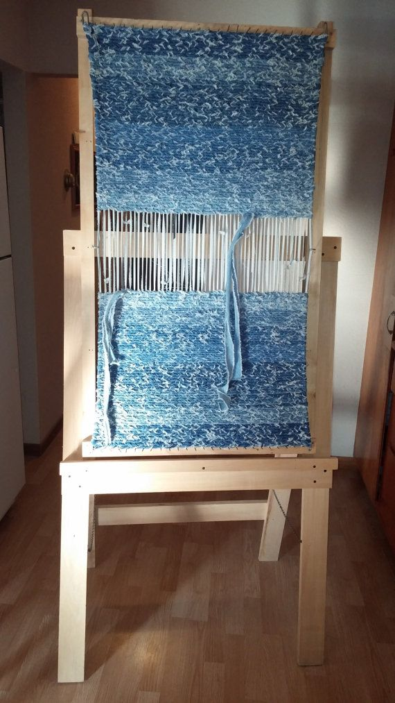 Rag Rug Loom With Stand Weaving Homemade Rugs